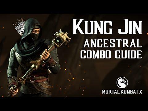 Mortal Kombat X: KUNG JIN (Ancestral) Beginner Combo Guide