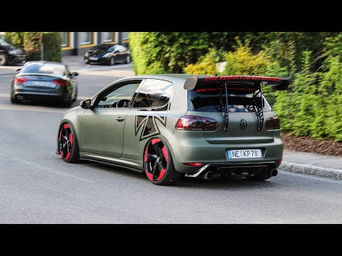 Volkswagen GTI Compilation Wörthersee 2019   Bangs, Launch Control, Accelerations, Sounds, ...