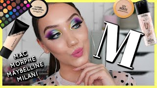 FIRST LETTER OF MY NAME MAKEUP CHALLENGE | MAKEMEUPMISSA