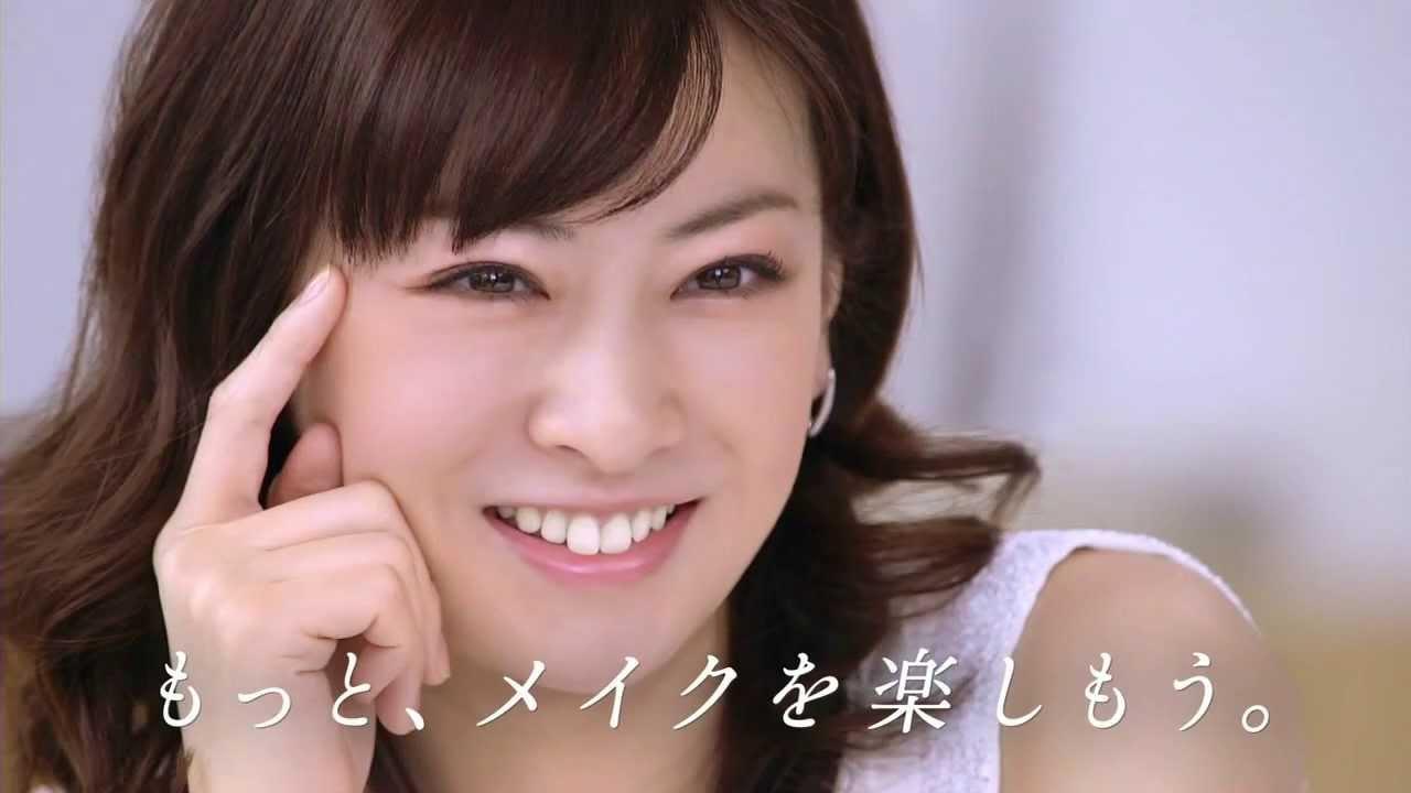 カネボウのCMのの北川景子さん