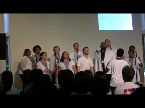 Redeemer Choir from Redeemer Church Jackson MS Japan tour 1