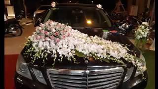 cắm hoa- trang trí xe hoa theo cách đơn giản nhất