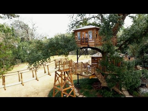 Behind The Build: Biggest Treehouse Ever! | Treehouse Masters