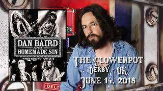 Dan Baird & Homemade Sin - The Flowerpot, Derby - 14th June 2018