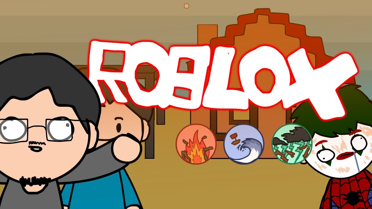 Roblox สองเกรียนผจญภัยพิบัติ OpzTV Fan Animation