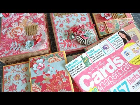 Mini Album Masterclass with Simply Cards & Papercraft Magazine