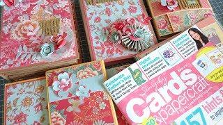 Mini Album Masterclass with Simply Cards & Papercraft Magazine