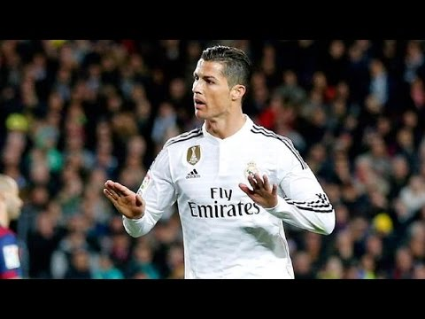 Cristiano Ronaldo Calma el Camp Nou 5 times (calma celebration)