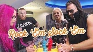 WWE Superstars play Rock 'Em Sock 'Em Robots: WWE Game Night