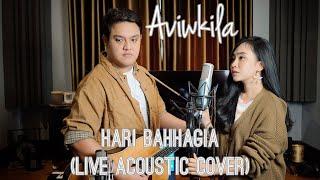 Download HARI BAHHAGIA - ATTA Halilintar & AUREL Hermansyah - (Acoustic Cover by Aviwkila)