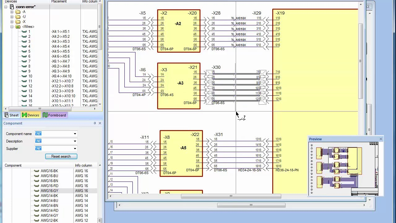 wiring software E3.series: Electrical wiring, control systems and fluid engineering ...