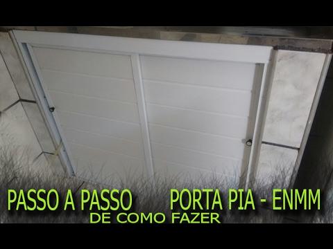Passo A Passo Como Fazer Arm 193 Rio De Pia Em Aluminio Enmm