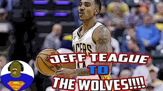 Jeff teague to the timberwolves - ricky rubio traded to the utah jazz