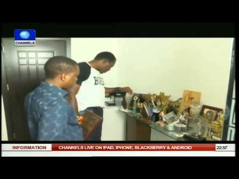 News@10: NFF Reports Gabon To CAF Over Ill-Treatment Of Eaglets 12/09/2014 Pt.4