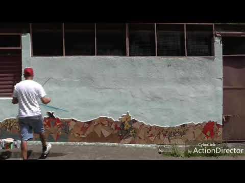 GRAFFITI OKIS SIMPLE BROWN