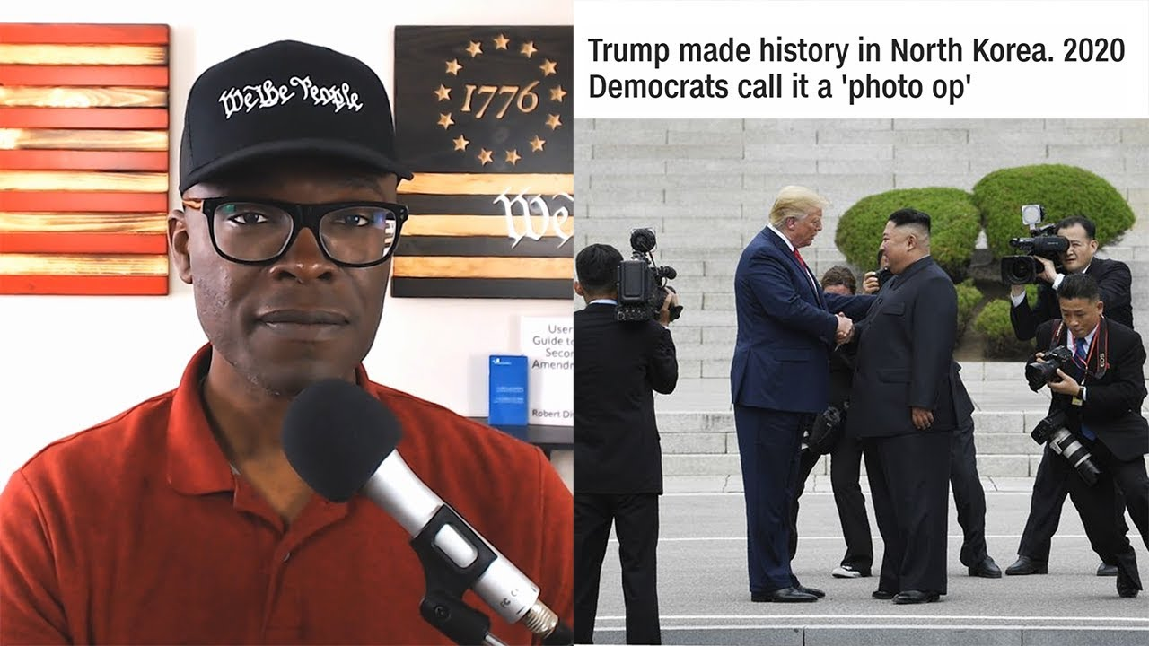 Anthony Brian Logan Democrats SLAM Trump For Wanting PEACE With North Korea!