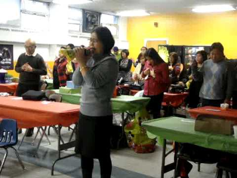El Shaddai New Jersey Christmas Party  2009 - Opening Prayer (Intercessory Ministry)