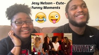 Jesy Nelson Cute Funny Moments-REACTION VIDEO
