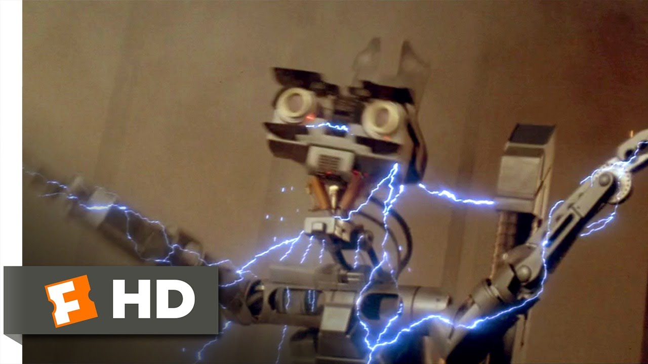 Short Circuit Movie Number 5 Johnny 5 Short Circuit 2 Miniature Movie