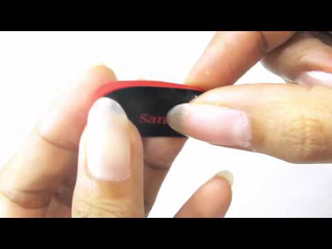 SanDisk 16gb cruzer blade USB Flash Drive Review