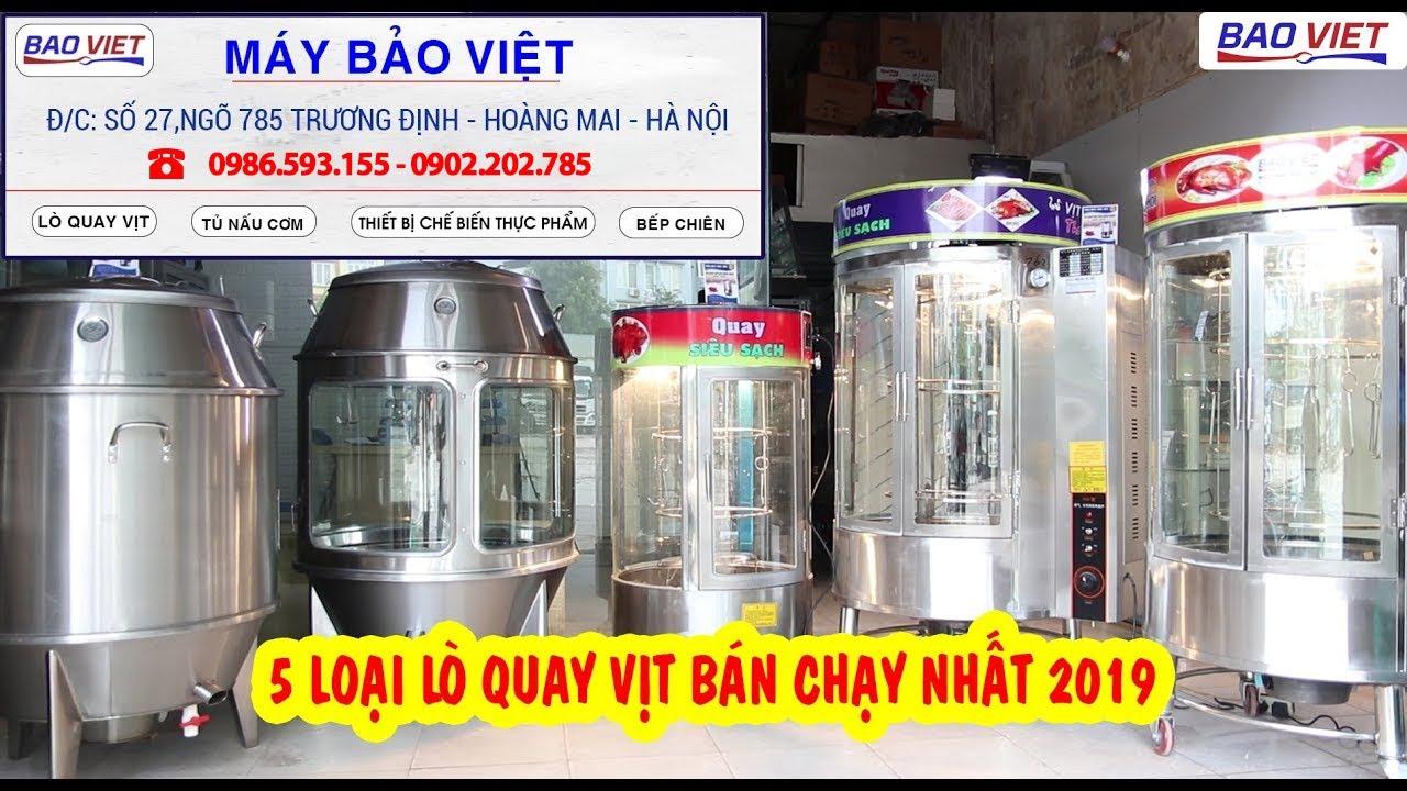 Lò Quay Vịt Công Nghiệp Ngon Nhất Việt Nam – Máy Bảo Việt