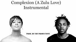 Kendrick Lamar - Complexion (A Zulu Love) InStruMentaL Remake (Prod. by YBF Productions)