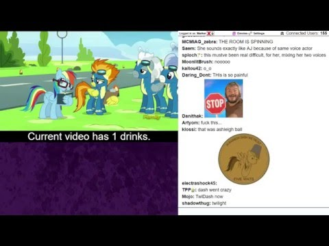 BerryTube Chat Reaction S06E07 - Newbie Dash