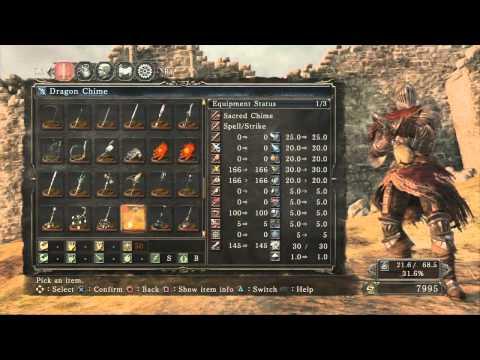 Dark Souls 2 - Weapon & Armor Showcase