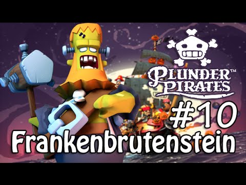 Plunder Pirates #10 Frankenbrutenstein (Halloween Special Pumpkin Pirates)