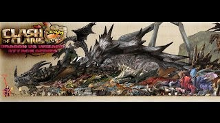 clash of clans Dragon V.S. Wizard Attack Series Part 1 702 Spam Musubi clash of clans""