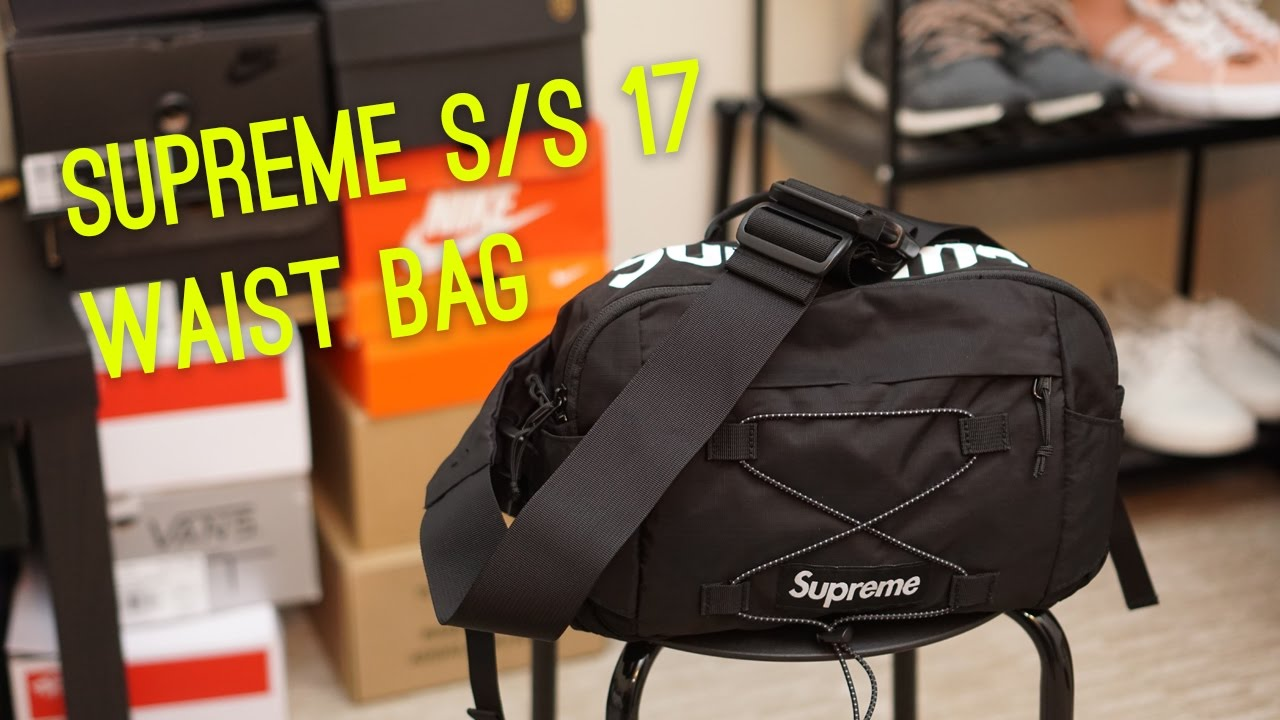 Supreme S 17 Waist Bag Overview