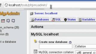 Создание локальной базы данных