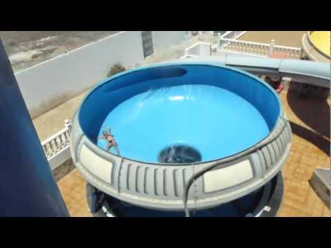 Blackhole at Costa Teguise water park - Lanzarote
