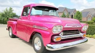 1959 Chevrolet Apache Classic Muscle Car for Sale in MI Vanguard Motor Sales