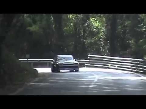 Unbelievable fast Ford Capri RS at Hillclimb