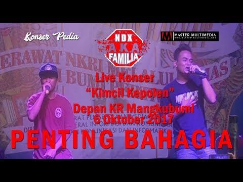 NDX A.K.A LIVE KONSER - KIMCIL KEPOLEN - Live Depan KR 6 Oktober 2017 (FULL HD )