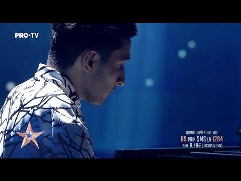 'Este aur' și face magie la pian | Rareș Bratu - Românii au Talent