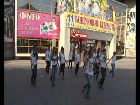 Саратовский флэшмоб в честь Майкла Джексона - Триллер