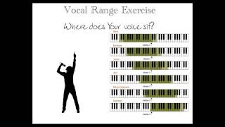 Vocal Range Exercise