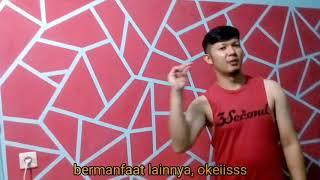 KEREN!! Hanya modal lakban cat dinding abstrak geometrik