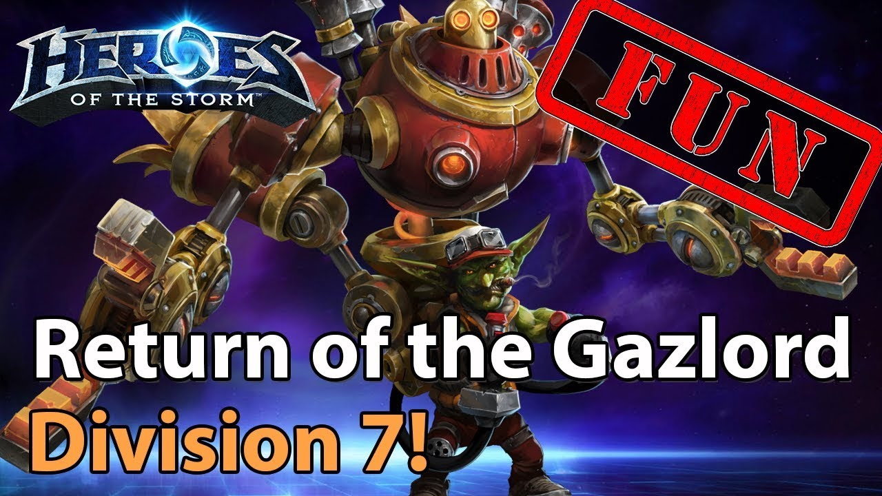 ► Heroes of the Storm: The Return of the GAZLORD! - Wombo Combo