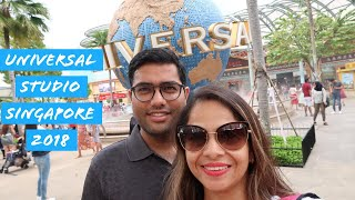 A Day In Universal Studio Singapore| Singapore Vlogs 2018 | Shubzzz Vlogs