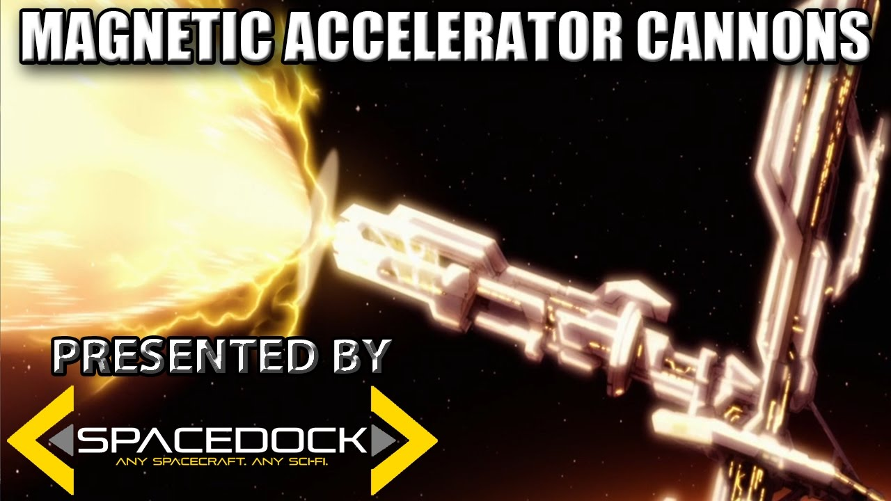 Halo Lore: Magnetic Accelerator Cannons - Spacedock
