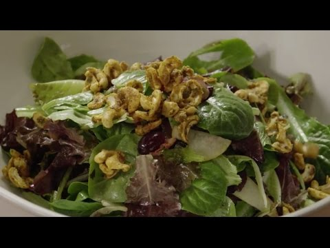 Salad Recipes - Curried Cashew Pear And Grape Salad