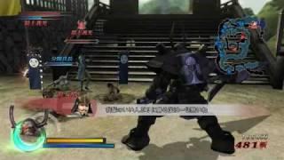 戰國 BASARA 3-本多忠勝實際遊玩影片-PS3-Wii-巴哈姆特GNN