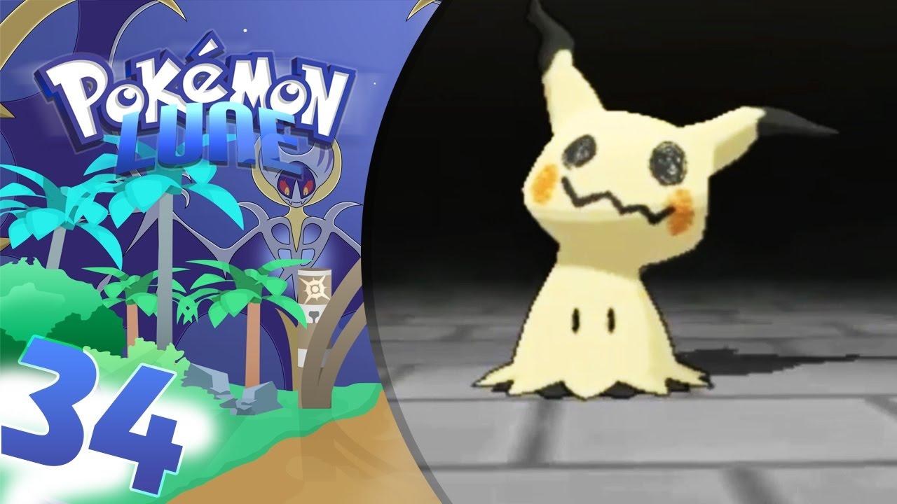 Pokemon Lune 34 Epreuve Spectre Mimiqui Trop Mignon Let S Play Français