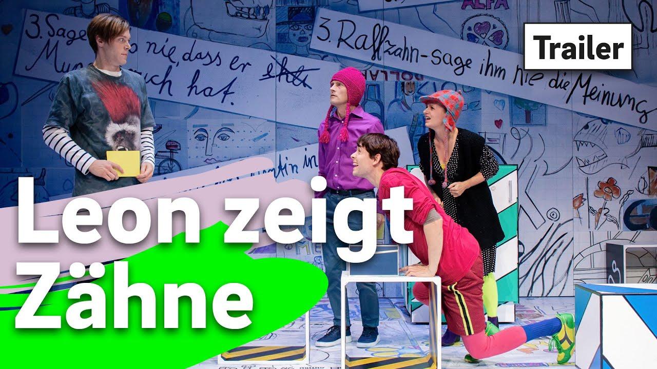 Leon zeigt Zähne ~ tjg. theater junge generation Dresden ~ Trailer