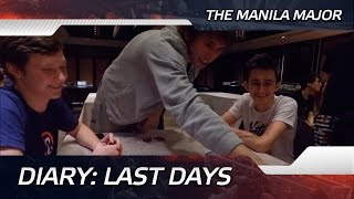 Diary: Last days @ The Manila Major (ENG SUBS!)