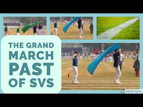 March Past SPORTS 2016 at St. Vincent's High & Technical School, Asansol
