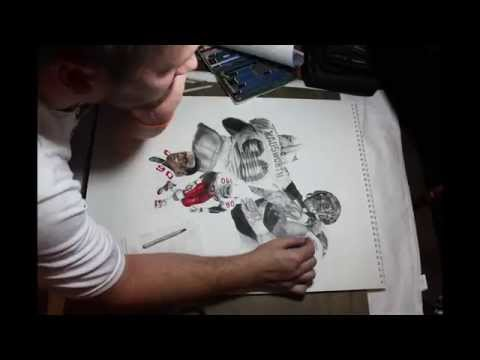 Andre Wadsworth Drawing Timelapse